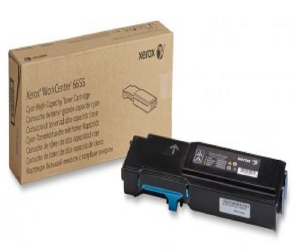 Картридж XEROX 106R02752 синий для WC 6655