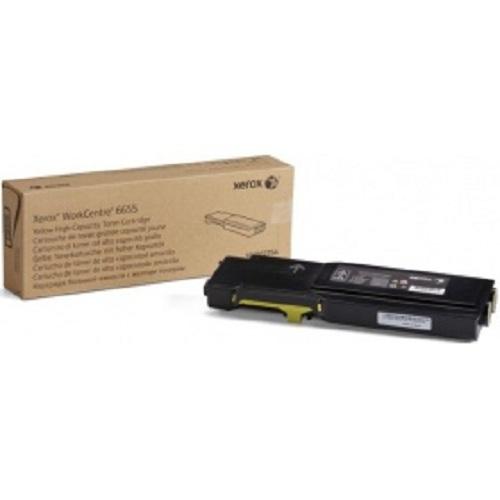 Картридж XEROX 106R02754 желтый для WC 6655