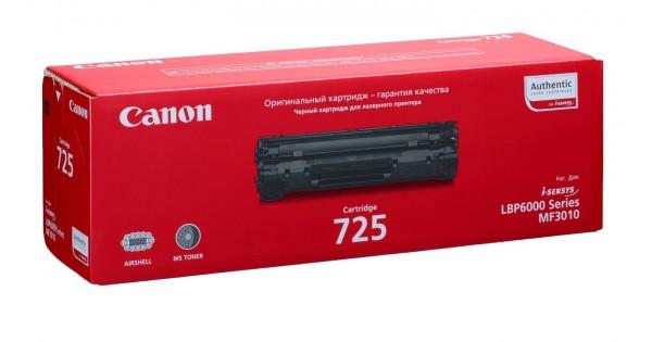 Картридж CANON Cartridge725 черный для LBP 6000/6000B/6020/6020B