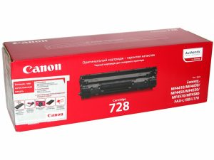Картридж CANON Cartridge728 черный для MF4410/4430/4450/4550dn/4570dn/4580dn