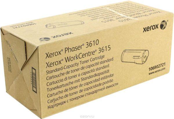 Картридж XEROX 106R02721 черный для Phaser 3610
