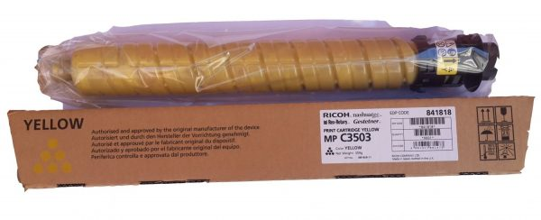 Картридж Ricoh 841818 желтый тип MP C3503 для Aficio MP C3003/C3503