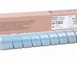 Картридж Ricoh 842019/841742 синий тип MPC3502E для Aficio MPC3002/C3502E