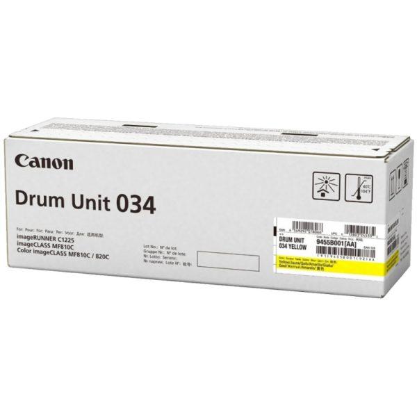 Барабан CANON 034 Y желтый для  iR C1225iF, C1225