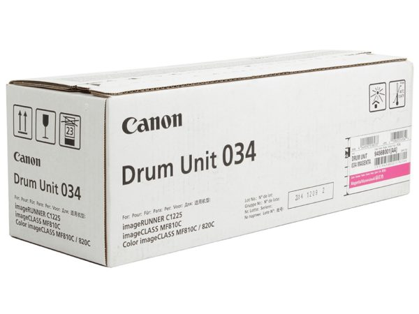 Барабан CANON 034 M пурпурный для  iR C1225iF, C1225