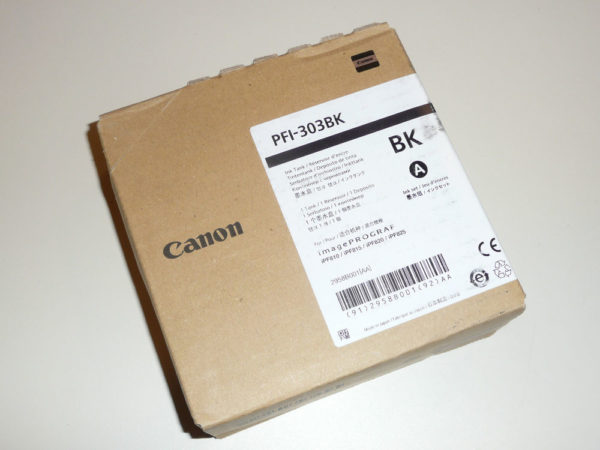 Картридж CANON PFI-303BK черный для IPF-810/820