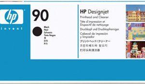 Печатающая головка HP C5054A №90 черная с устр.ойством очистки для принтеров Designjet4000
