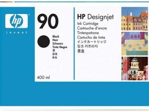 Картридж HP C5058A №90 черный для Designjet 4000 серии (400 мл)