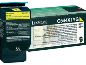 Тонер-картридж LEXMARK C544X1YG желтый для c544,c546,x544,x546