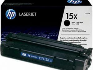 Картридж HP C7115Х черный увеличенный для LJ 1200/1220