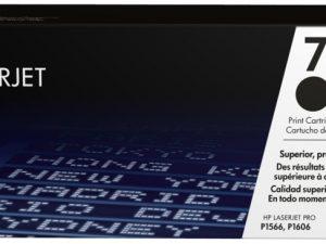 Картридж HP CE278L черный для LJ P1566/P1606w/M1536dnf