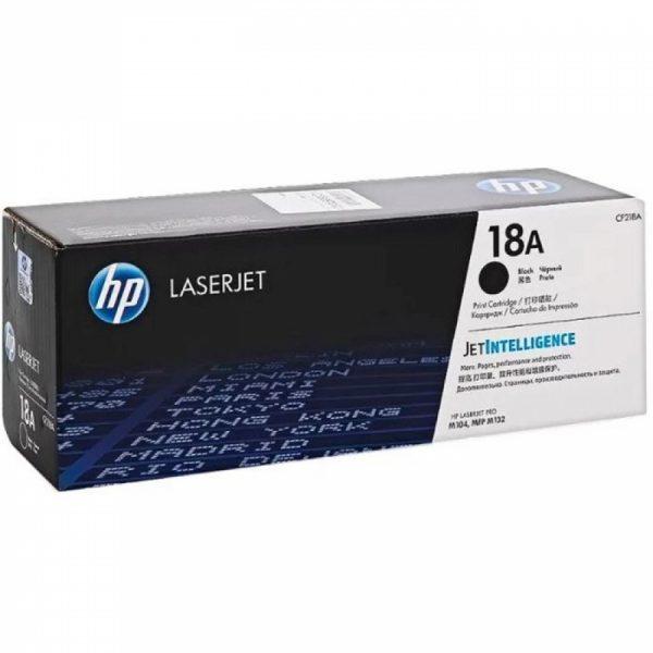 Картридж HP CF218A черный для LaserJet Pro M104/MFPM132