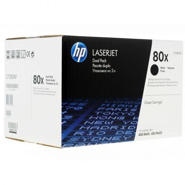 Картридж HP CF280XF черный двойной для LJ Pro 400/M401/Pro/400/MFP/M425 M225/M125/M127