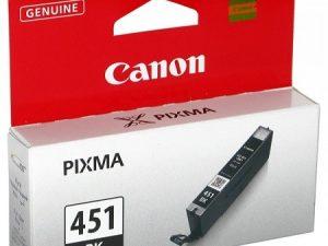 Картридж CANON CLI-451BK черный стандартный для PIXMA iP7240/MG6340