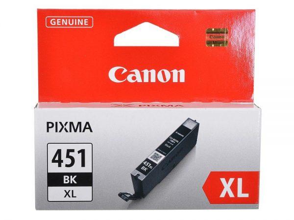 Картридж CANON CLI-451XLBK черный увеличенный для PIXMA iP7240/MG6340