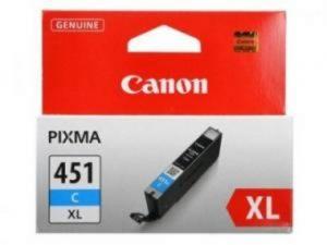 Картридж CANON CLI-451XLC синий увеличенный для PIXMA iP7240/MG6340