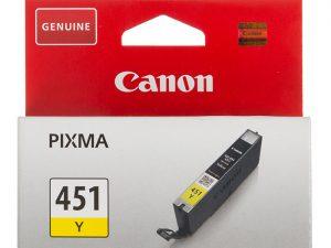 Картридж CANON CLI-451Y желтый стандартный для PIXMA iP7240/MG6340