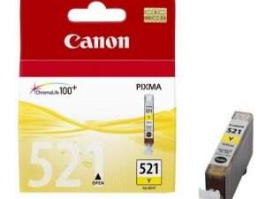 Картридж CANON CLI-521Y желтый для PIXMA IP4600