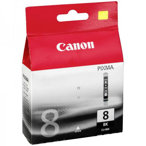 Картридж CANON CLI-8BK черный для Pixma MP500/800, IP6600,5200,4200