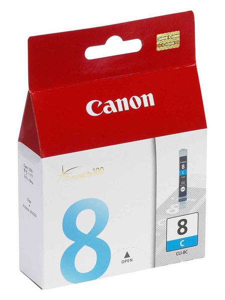 Картридж CANON CLI-8C синий для Pixma MP500/800, IP6600,5200,4200