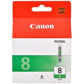Картридж CANON CLI-8G зеленый для Pixma MP500/800, IP6600,5200,4200