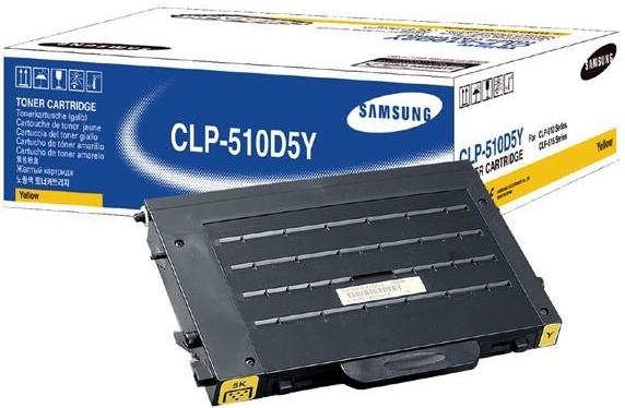 Картридж SAMSUNG CLP-510D5Y желтый для CLP-510/511/515