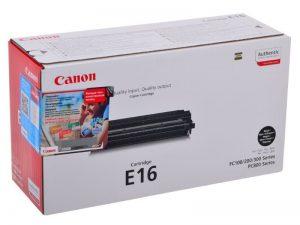 Картридж CANON E16 черный для FC2xx/3xx/530