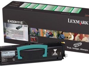 Тонер-картридж LEXMARK E450H11E черный для Е450