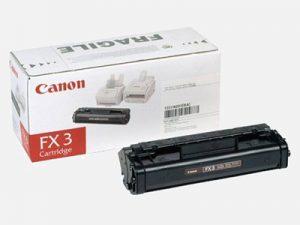 Картридж CANON FX-3 черный для Canon L250/300/L4000/90/60