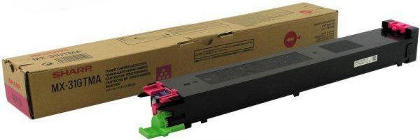 Картридж Sharp MX-31GTMA малиновый для MX2301/2600/3100/4100/4101/5001