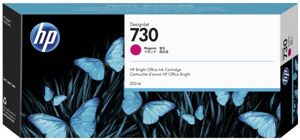 Картридж HP P2V69A 730  для HP DesignJet T1700,300мл, пурпурный