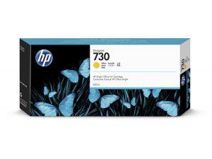 Картридж  HP P2V70A 730 для HP DesignJet T1700, 300 мл, желтый
