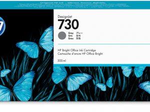 Картридж  HP P2V71A 730 для HP DesignJet T1700, 300 мл,матовый черный