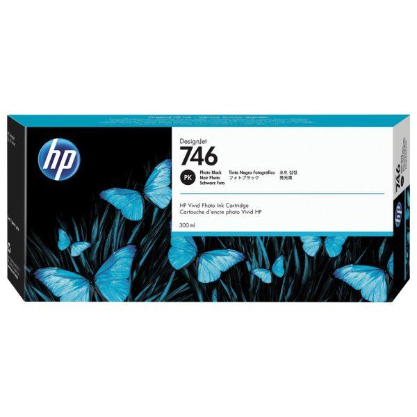 Картридж  HP P2V73A 730 для HP DesignJet T1700, 300 мл, черный фото