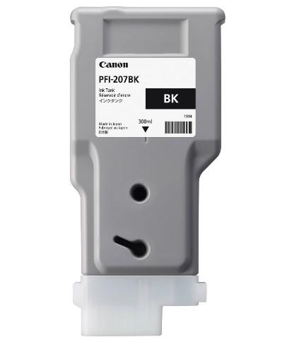 Картридж CANON PFI-207BK черный для iPF680/685/780/785 300 мл.