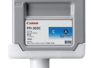 Картридж CANON PFI-303C синий для IPF-810/820