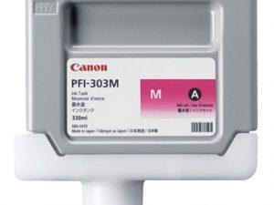 Картридж CANON PFI-303M малиновый для IPF-810/820