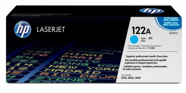 Картридж HP Q3961А синий для LJ 2550/2820