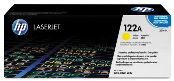 Картридж HP Q3962А желтый для LJ 2550/2820