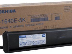 Тонер TOSHIBA T-1640E-5K черный для E-Studio 163/203/166/206/165/205/167/207/237 12/15/120/141