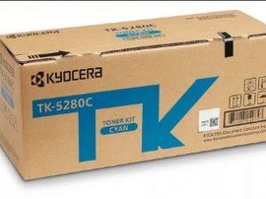 Тонер-картридж Kyocera TK-5280C синий для принтеров Kyocera P6230/6235/7240cdn/cidn