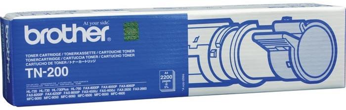 Картридж BROTHER TN-200 черный для HL720/730/760,FAX2750/3550/3650/3750,MFC9500/9050/9550