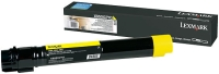 Тонер-картридж LEXMARK X950X2YG желтый для X950/X952/X954/PN697E/40180/40190/40200/40210