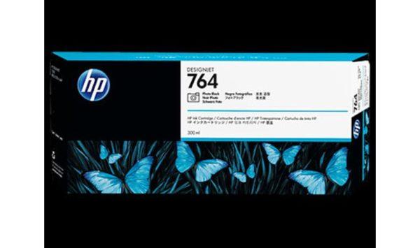 Картридж №764 C1Q17A фото черный HP Designjet T3500 (300мл)