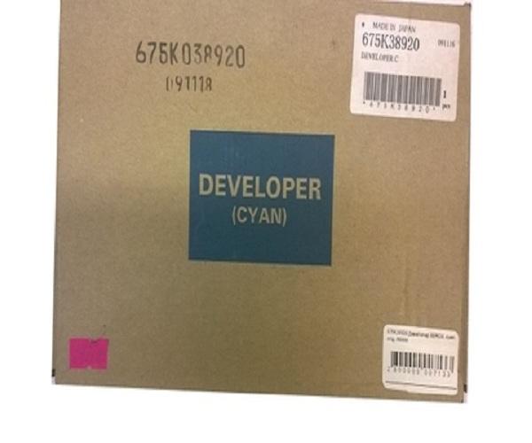 Девелопер XEROX 675K38920 синий для WC 7132