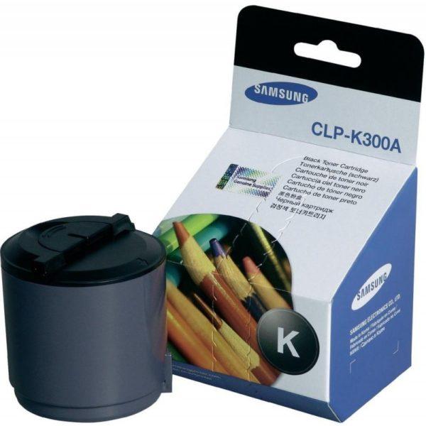 Картридж SAMSUNG CLP-K300A черный для CLP300/CLX-2160/CLX-3160