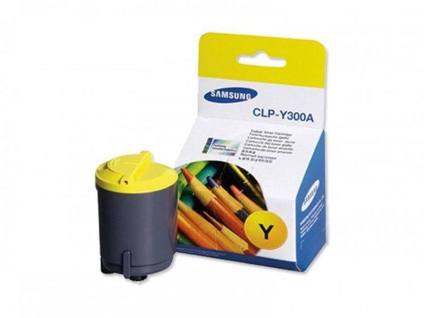 Картридж SAMSUNG CLP-Y300A желтый для CLP300/CLX-2160/CLX-3160