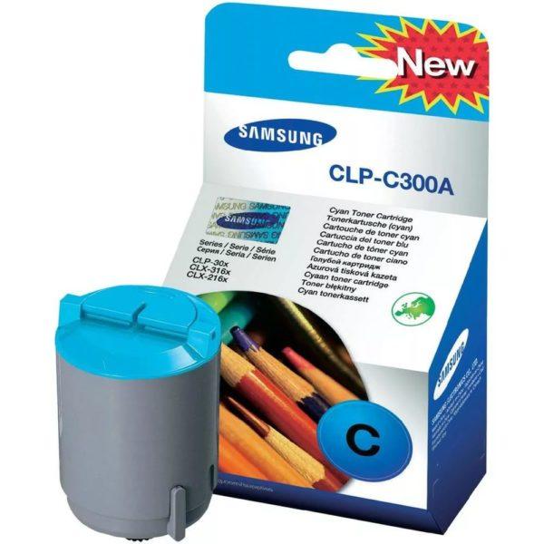 Картридж SAMSUNG CLP-C300A синий для CLP300/CLX-2160/CLX-3160
