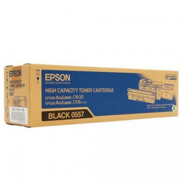 Картридж EPSON S050557 черный увеличенный для AcuLaser C1600/CX16