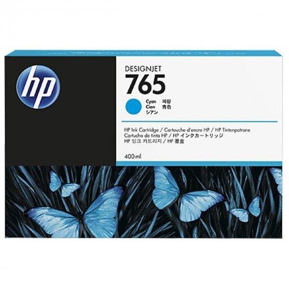 Картридж HP F9J52A №765 синий для Designjet T7200, 400мл